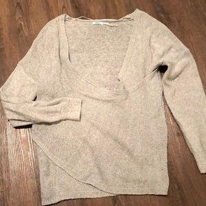 Kimchi Blue Wrap Sweater - Medium